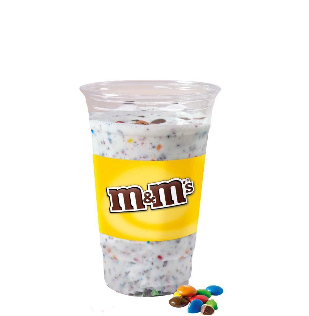 Snackpoint Emmen Snackbar Milkshake M&M's