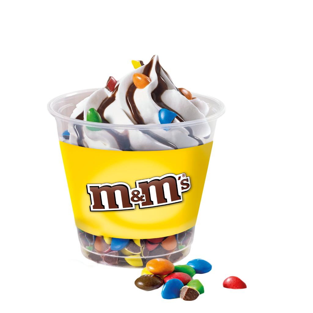 Snackpoint Emmen Snackbar Sundae M&Ms